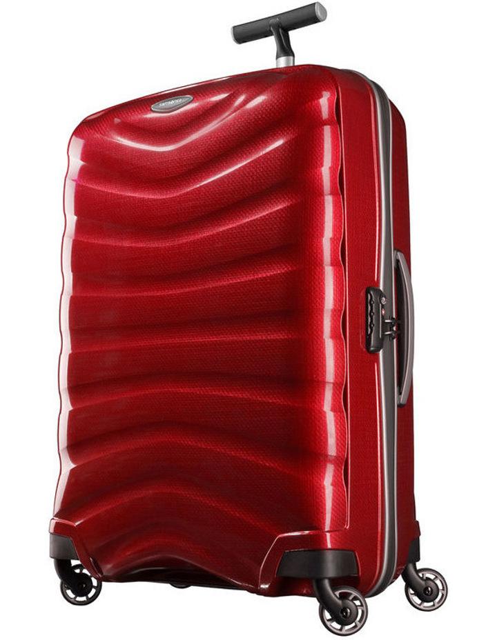 Firelite Spinner Suitcase Chili Red Medium 75cm image 1
