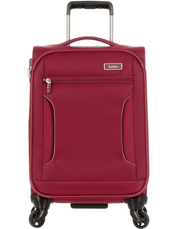Cyberlite II soft side spinnercase small 56cm Red 2.3kg image 1
