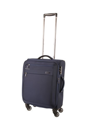 Samsonite - Lumiere soft side spinnercase small 55cm navy 2.5kg
