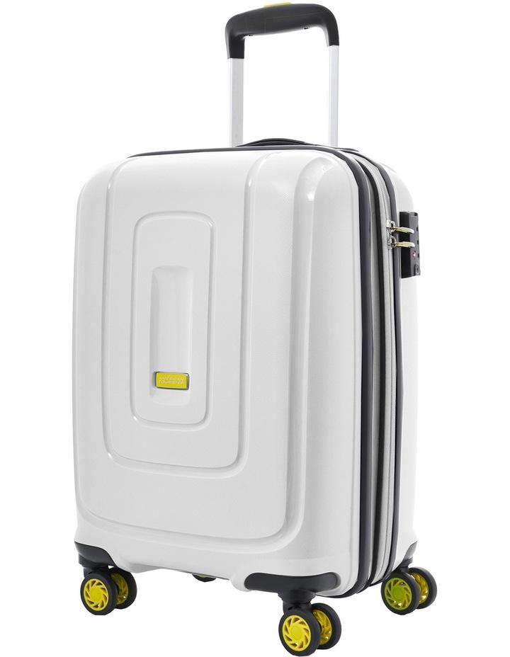 Lightrax Hardside Spinner Case Small 55cm White 2.7kg image 1