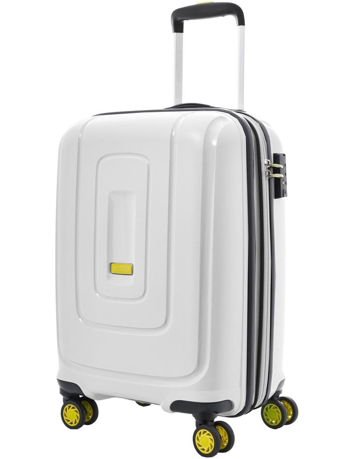 Lightrax Hardside Spinner Case Medium 69cm White 3.7kg image 1