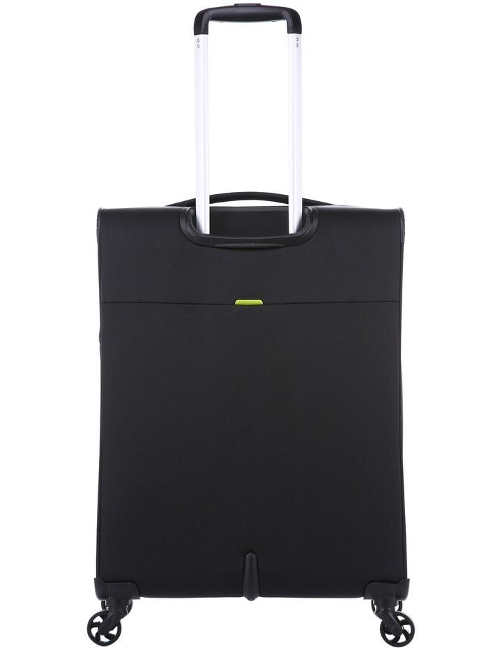 Zeolite Softside Spinner Case Medium: Black 66cm 2.8kg image 3