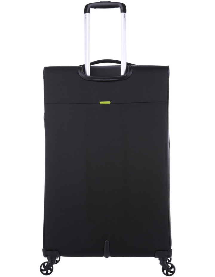 Zeolite Softside Spinner Case Large: Black 80cm 3.0kg image 3