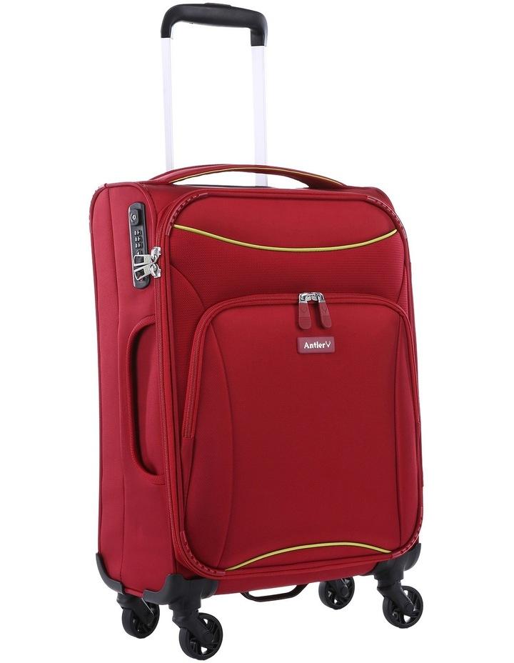 Zeolite Softside Spinner Case Small:Red 56cm 2.0kg image 2