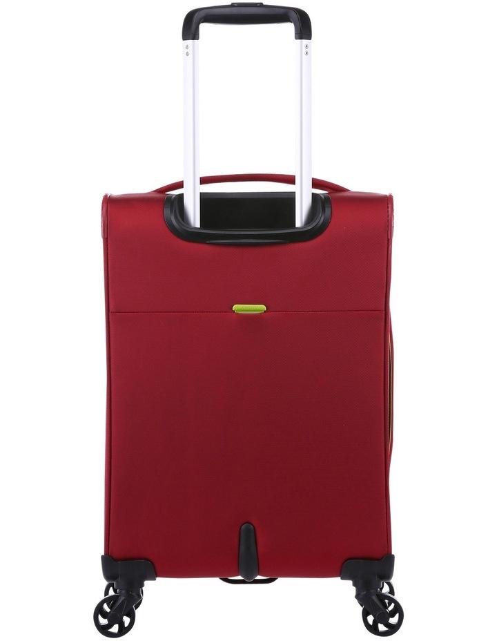 Zeolite Softside Spinner Case Small:Red 56cm 2.0kg image 4