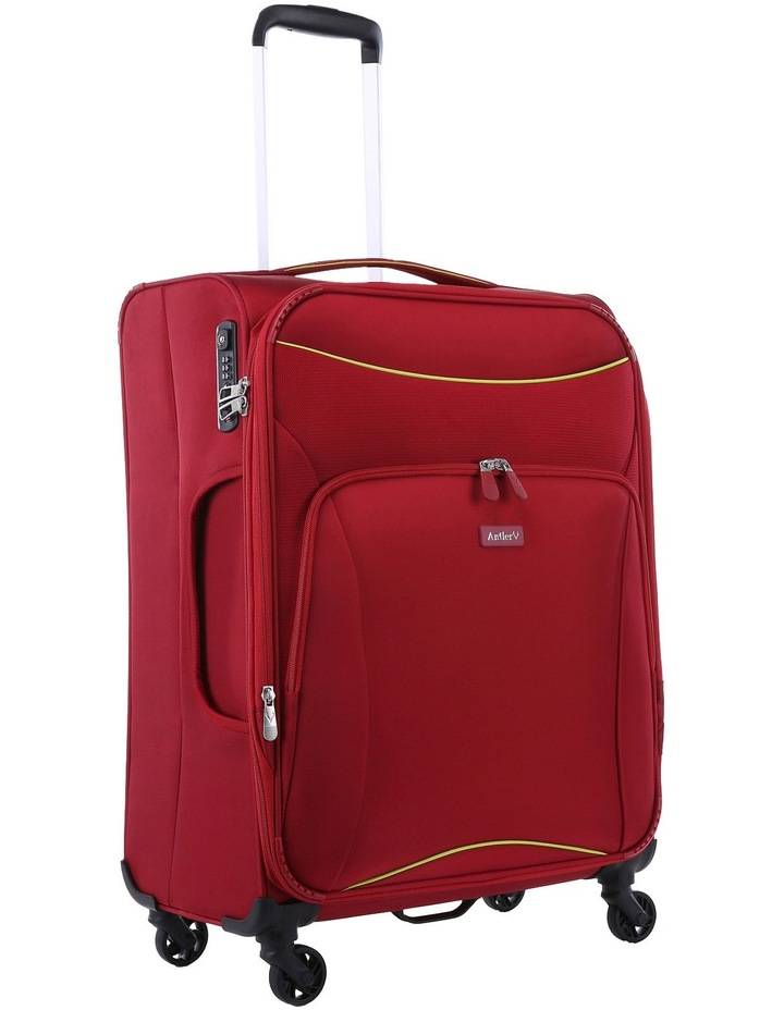 Zeolite Softside Spinner Case Medium: Red 66cm 2.8kg image 2