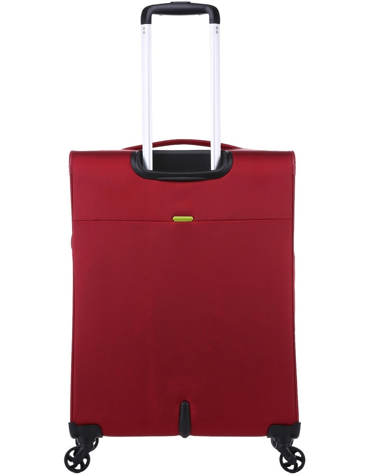 Zeolite Softside Spinner Case Medium: Red 66cm 2.8kg image 4