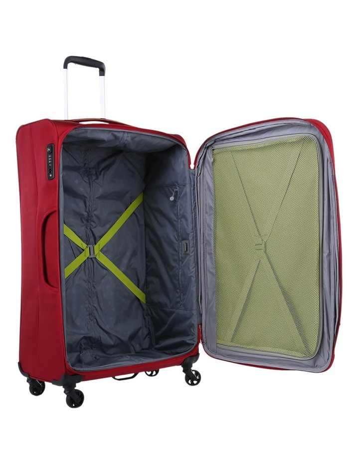 Zeolite Softside Spinner Case Large: Red 80cm 3.0kg image 3