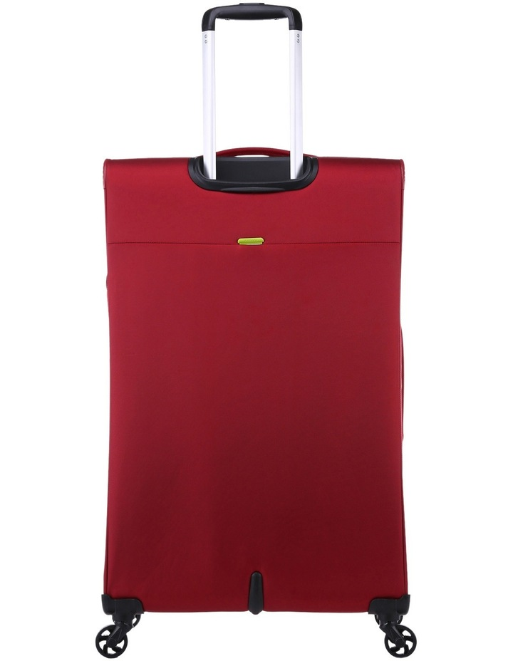 Zeolite Softside Spinner Case Large: Red 80cm 3.0kg image 4