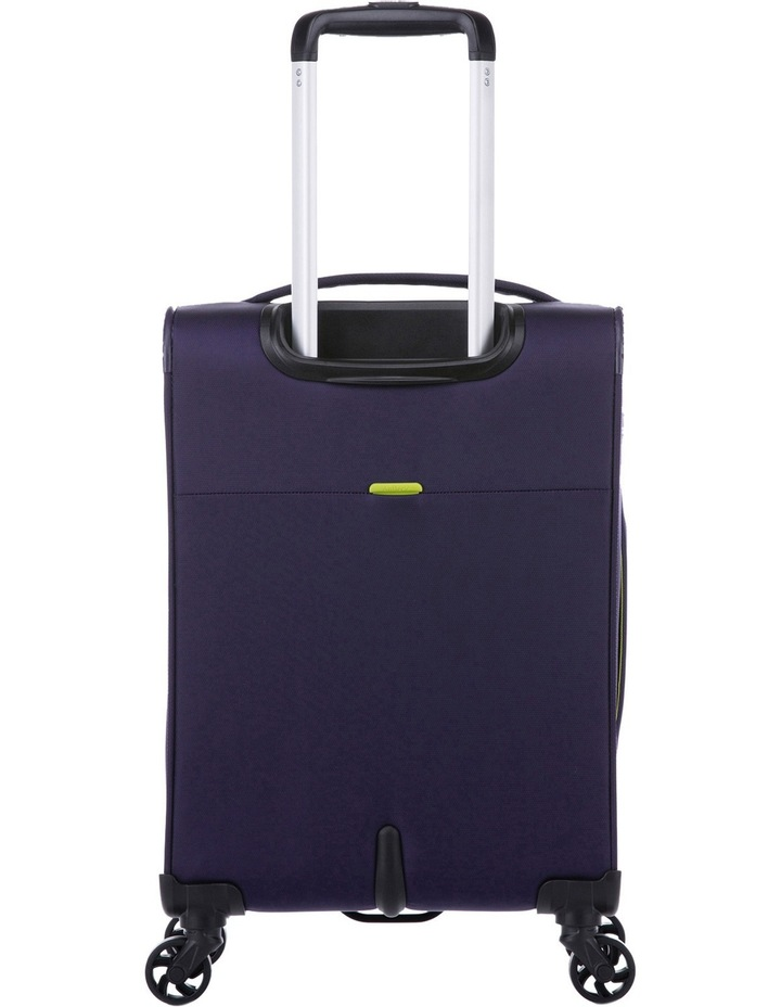 Zeolite Softside Spinner Case Small:Purple 56cm 2.0kg image 4