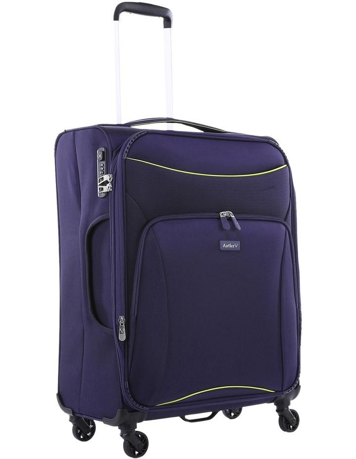 Zeolite Softside Spinner Case Medium: Purple 66cm 2.8kg image 2