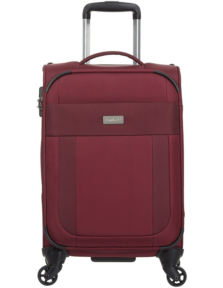 Translite Softside Spinner Case Small 56cm Burgundy 2.2kg image 1