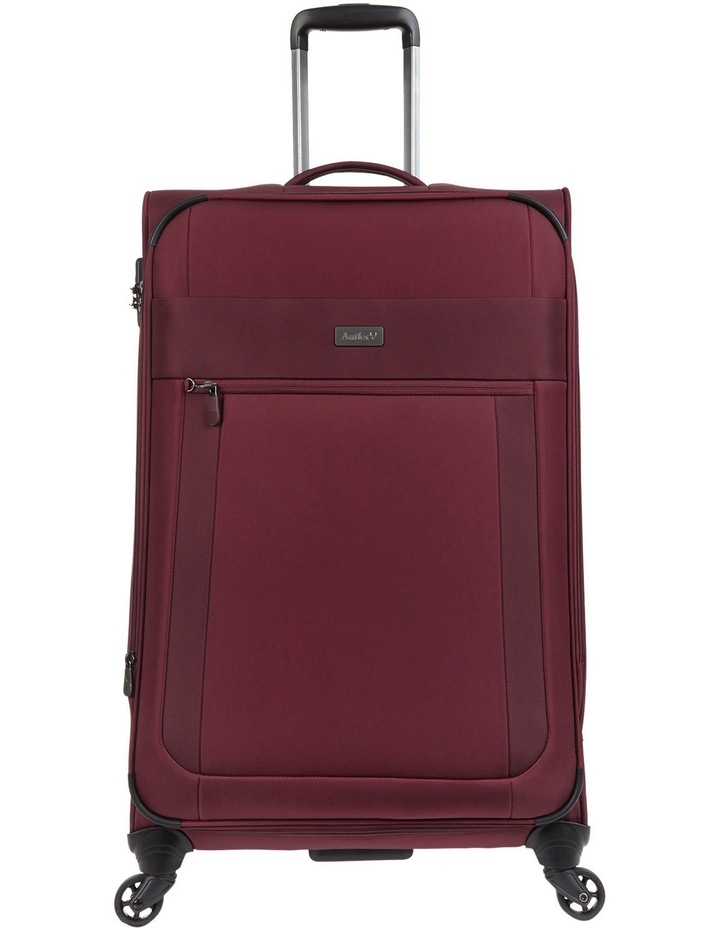 Translite Softside Spinner Case Large 81cm Burgundy 3.3kg image 1