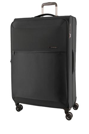 Samsonite - 72Hrs Deluxe  Softside  Spinner Case Medium:Black:71cm 2.4kg