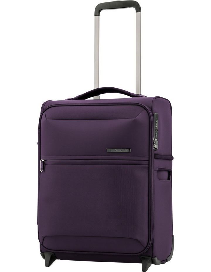 72Hrs Deluxe Softside Upright CaseSmall:Purple:50cm 1.7kg image 1
