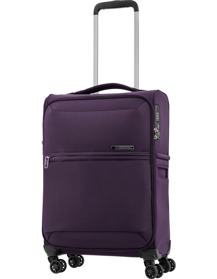 72Hrs Deluxe Softside Spinner Case Small:Purple: 55cm 1.8kg image 1