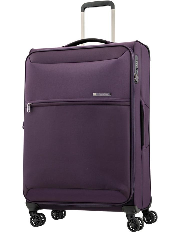 72Hrs Deluxe  Softside  Spinner Case Medium:Purple:71cm 2.4kg image 1