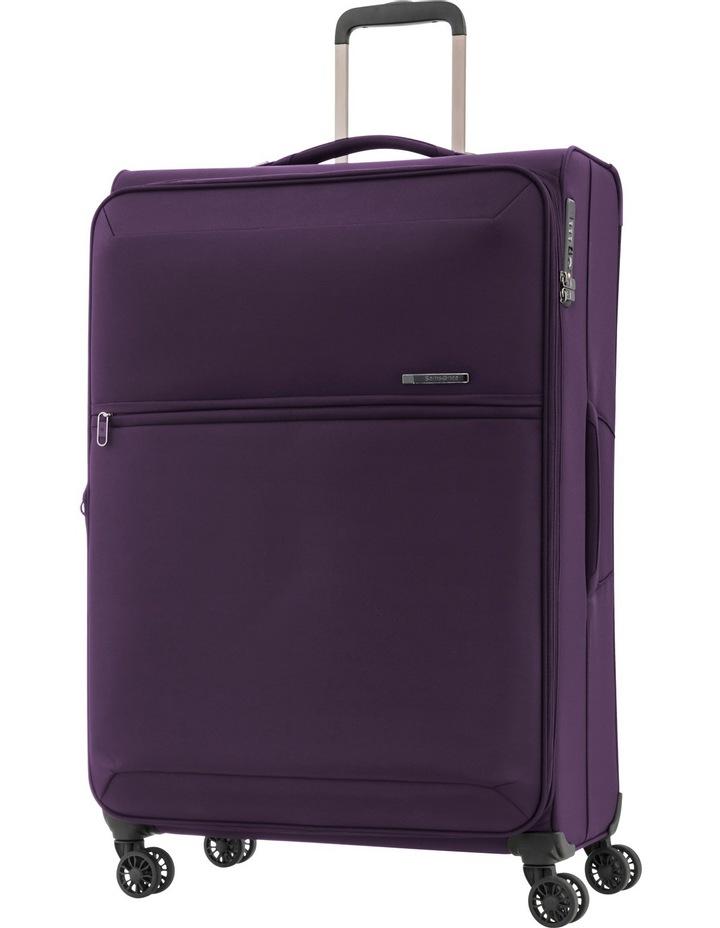 72Hrs Deluxe  Softside  Spinner Case Large:Purple:78cm 2.8kg image 1