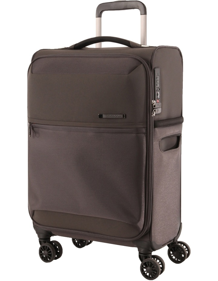72Hrs Deluxe  Softside  Spinner Case Small:Grey: 55cm 1.8kg image 1