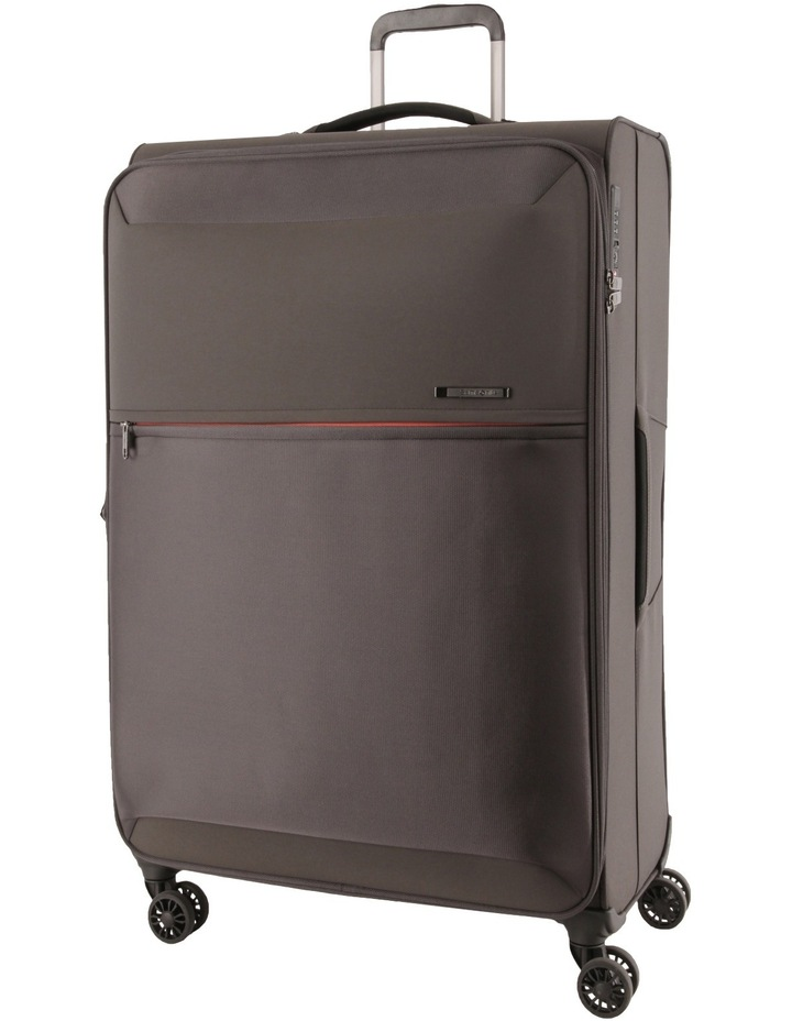 72 Hours Deluxe Medium 71cm Softside Spinner Suitcase - Grey image 1