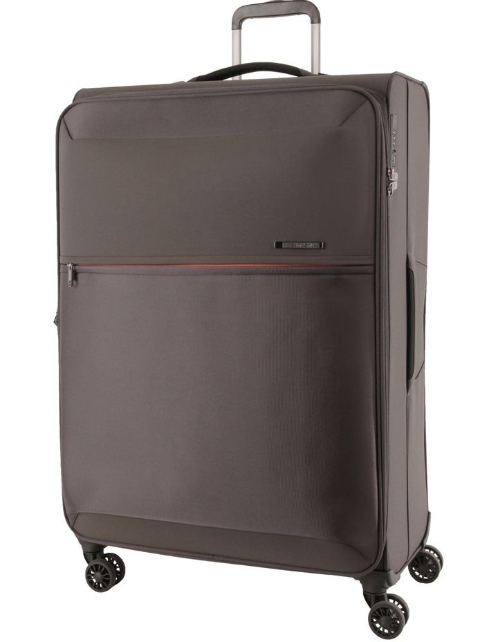 72 Hours Deluxe Large 78cm Softside Spinner Suitcase - Grey image 1
