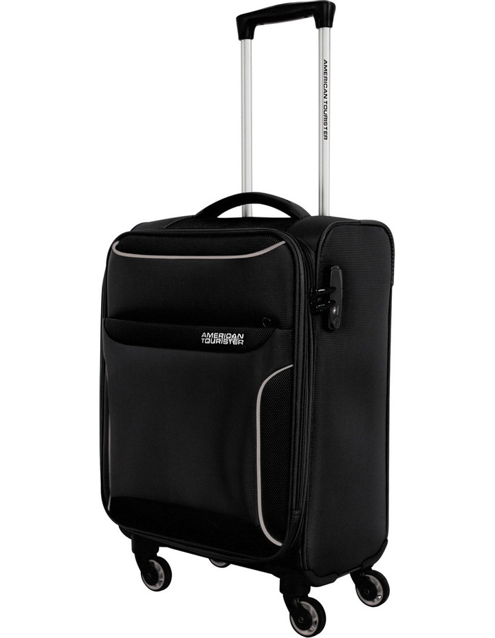 Dee-Lite Deluxe Soft Spinner Case Small:Black:55cm image 1