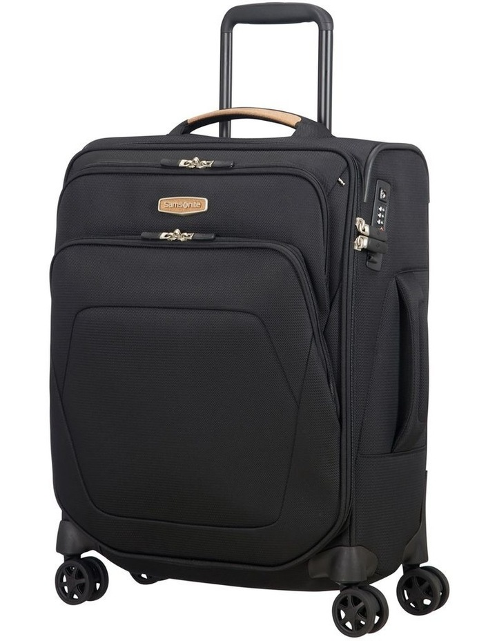 Spark Eco Small 55cm Softside Spinner Suitcase - Black image 1