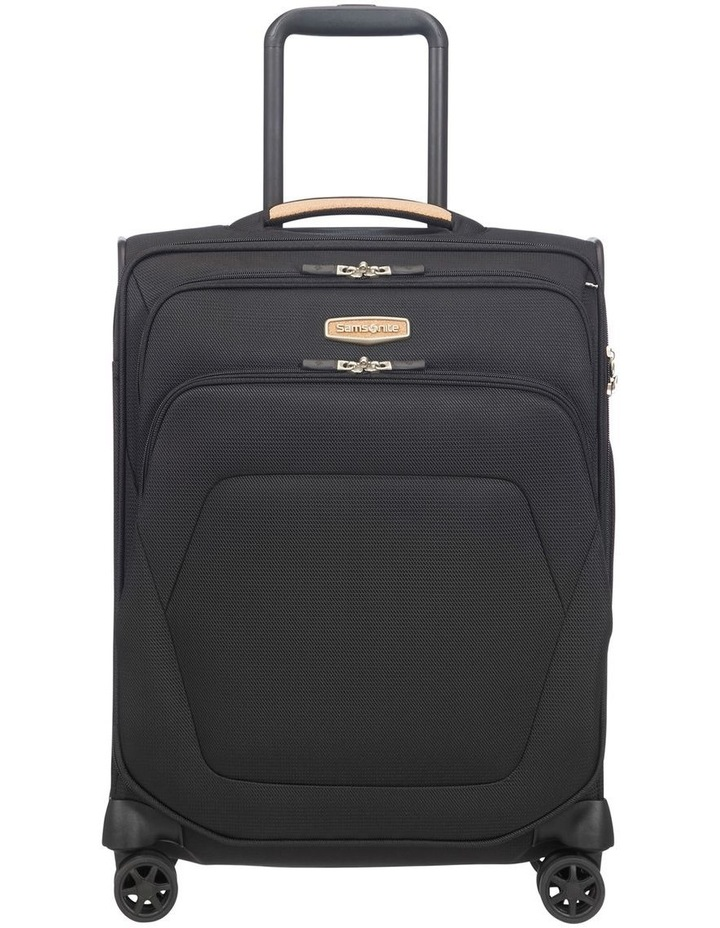 Spark Eco Small 55cm Softside Spinner Suitcase - Black image 2