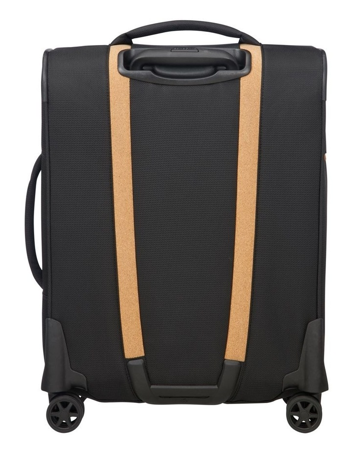 Spark Eco Small 55cm Softside Spinner Suitcase - Black image 3