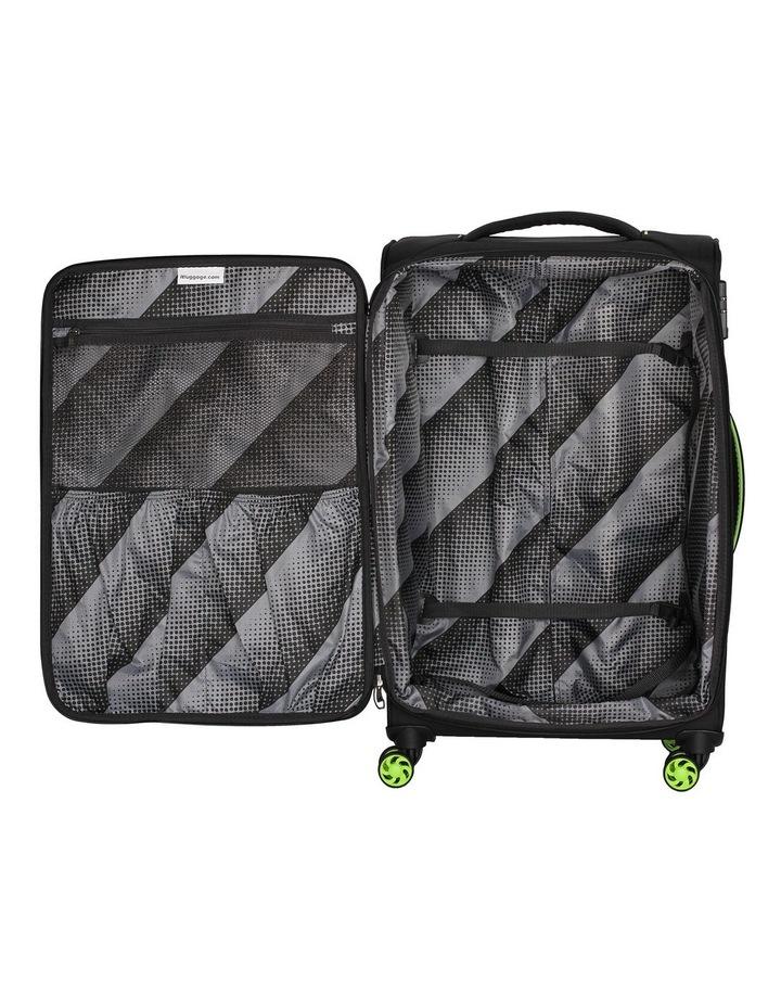 MegaLite Bold softside 55cm suitcase black image 4