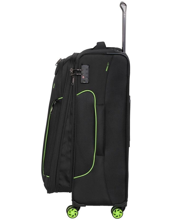 MegaLite Bold softside 70cm Suitcase Black image 2