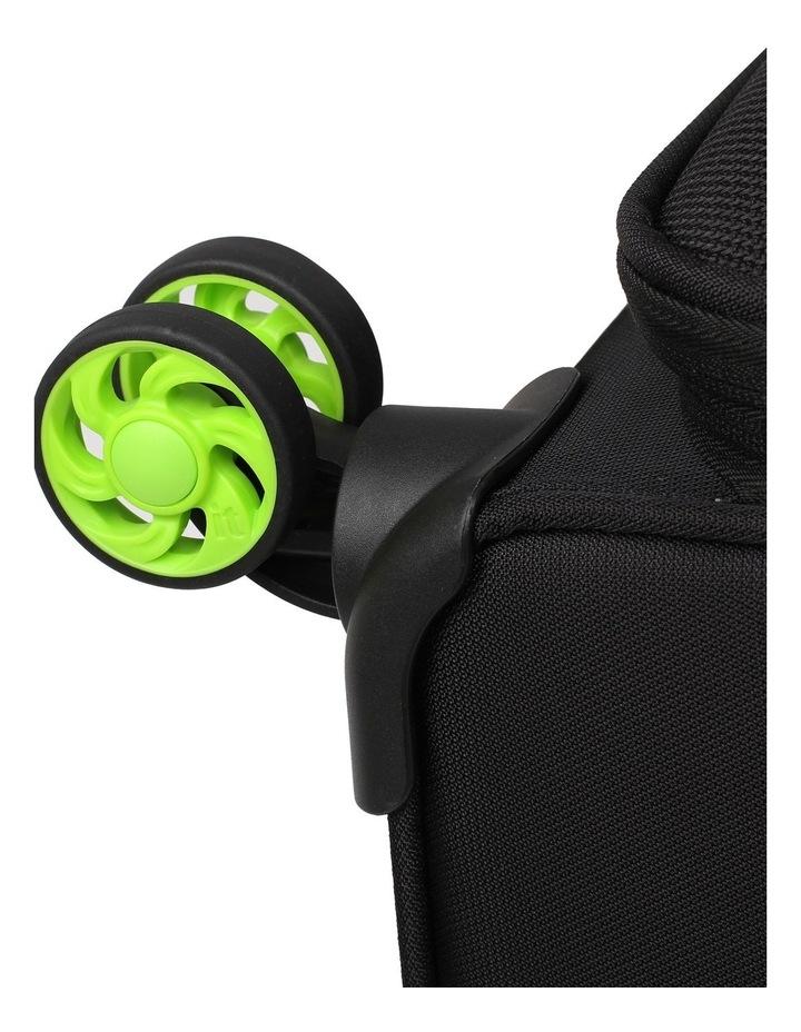 MegaLite Bold softside 70cm Suitcase Black image 3