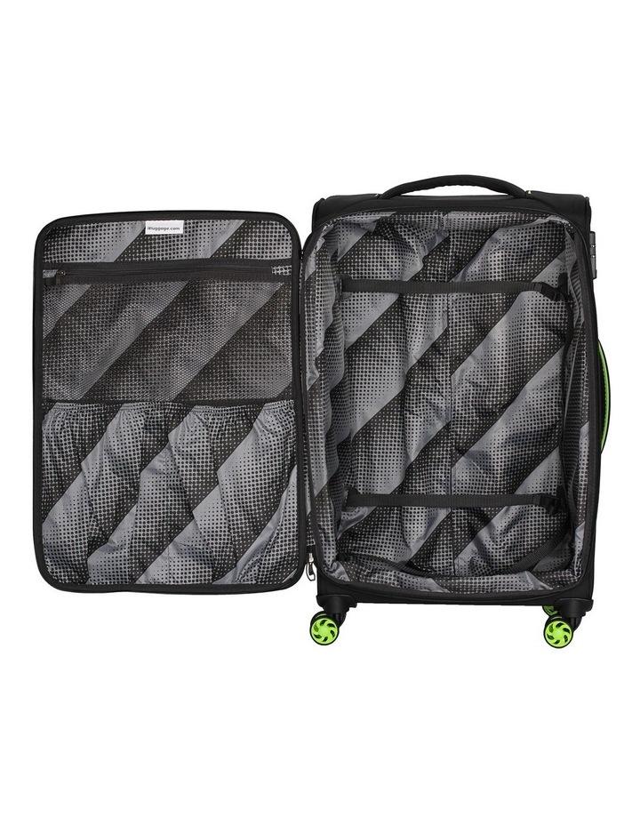 MegaLite Bold softside 70cm Suitcase Black image 4