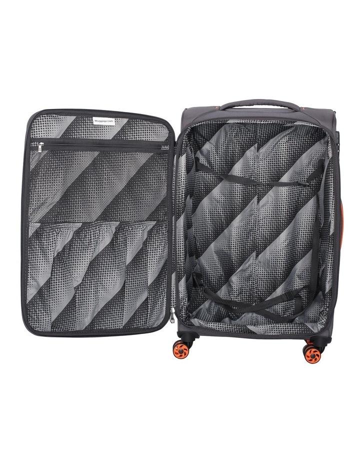 MegaLite Bold softside 55cm Suitcase Grey image 3