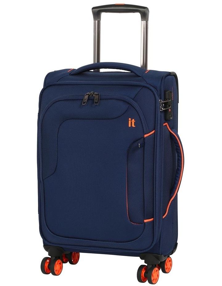 MegaLite Bold softside 55cm Suitcase Blue image 1