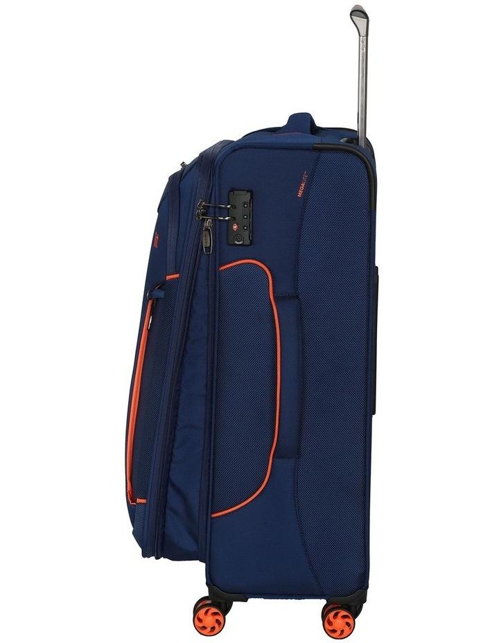 MegaLite Bold softside 55cm Suitcase Blue image 2