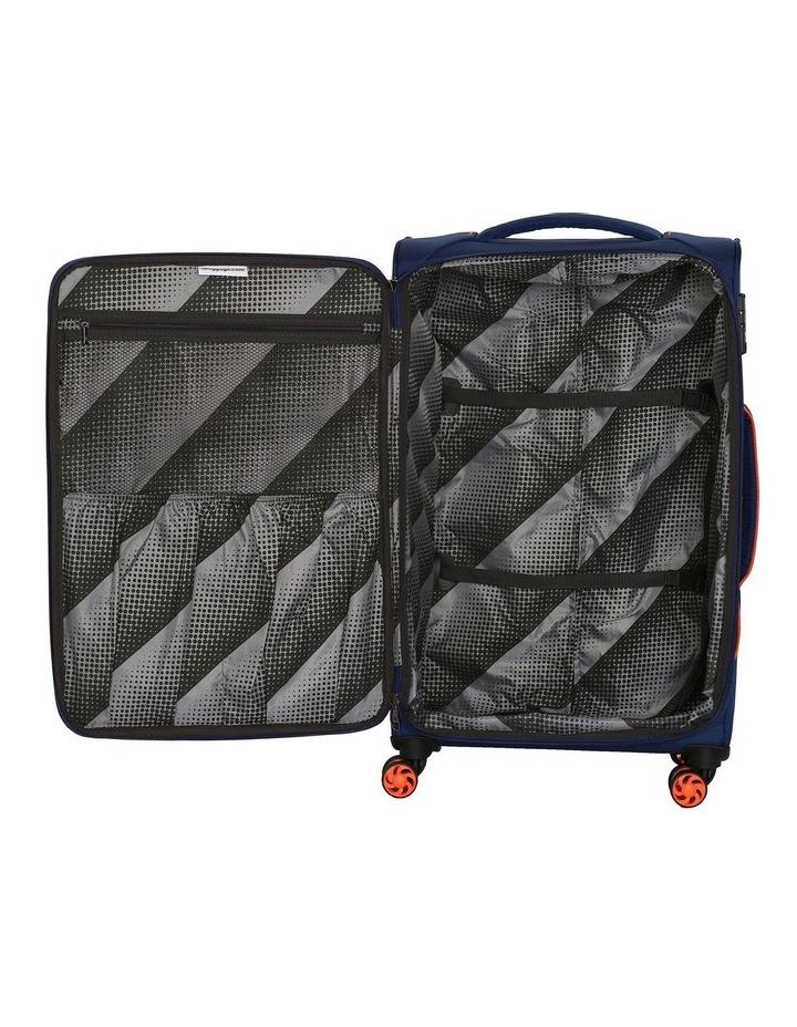 MegaLite Bold softside 55cm Suitcase Blue image 5