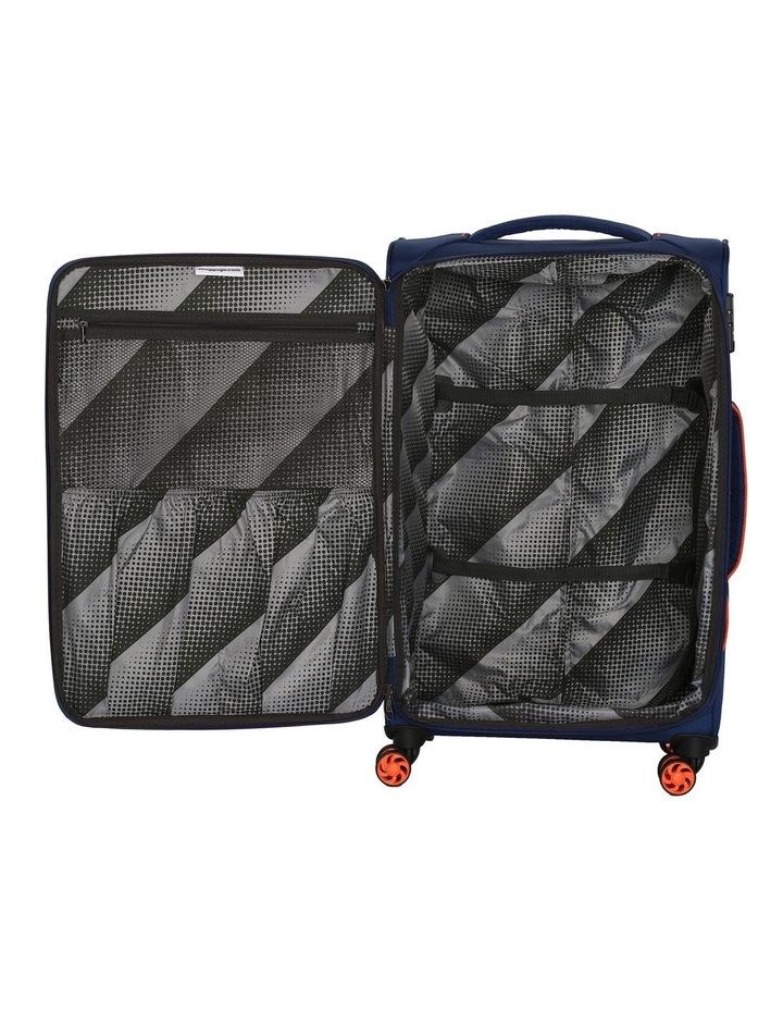 MegaLite Bold softside 70cm Suitcase Blue image 5