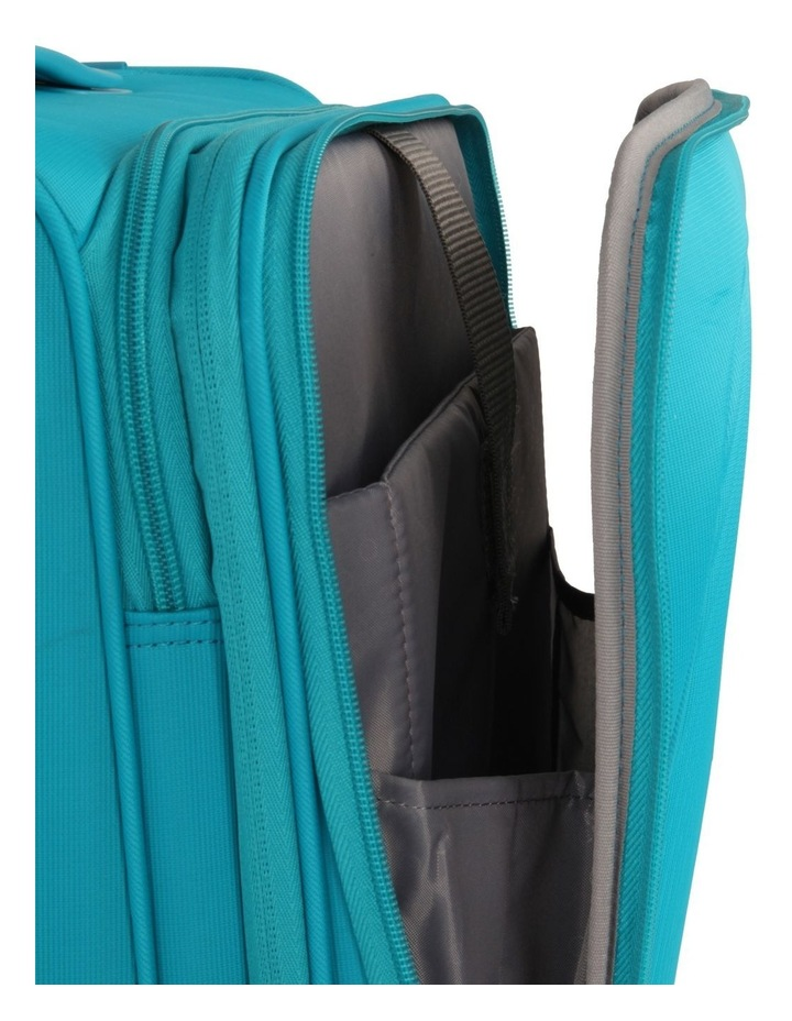 Curio Softside Spinner Case 55cm Turquoise 2.7kg image 3