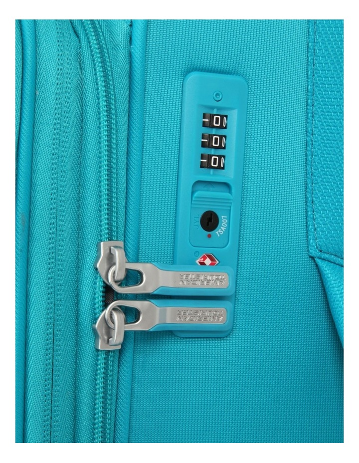 Curio Softside Spinner Case 55cm Turquoise 2.7kg image 4