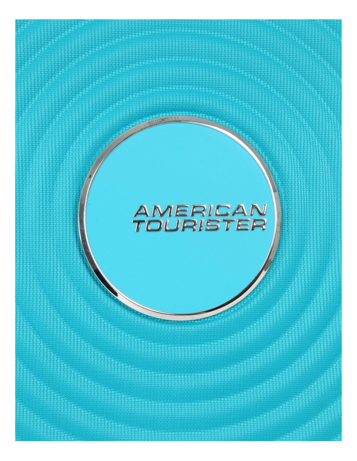 Curio Softside Spinner Case 55cm Turquoise 2.7kg image 5