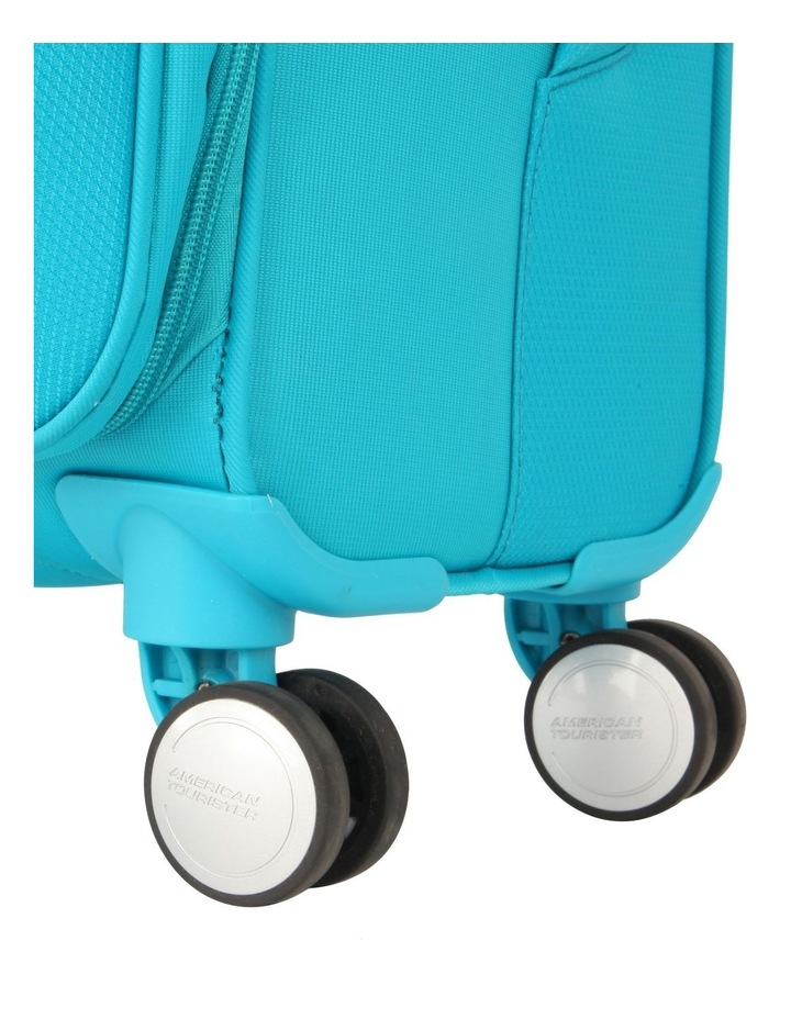 Curio Softside Spinner Case 55cm Turquoise 2.7kg image 7