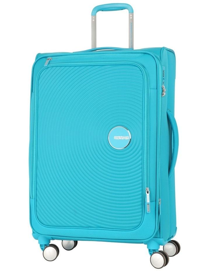 Curio Softside Spinner Case 69cm Turquoise 2.9kg image 1