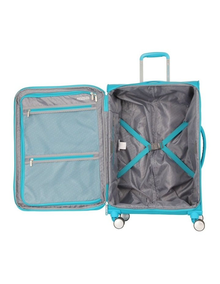 Curio Softside Spinner Case 81cm Turquoise 3.4kg image 2