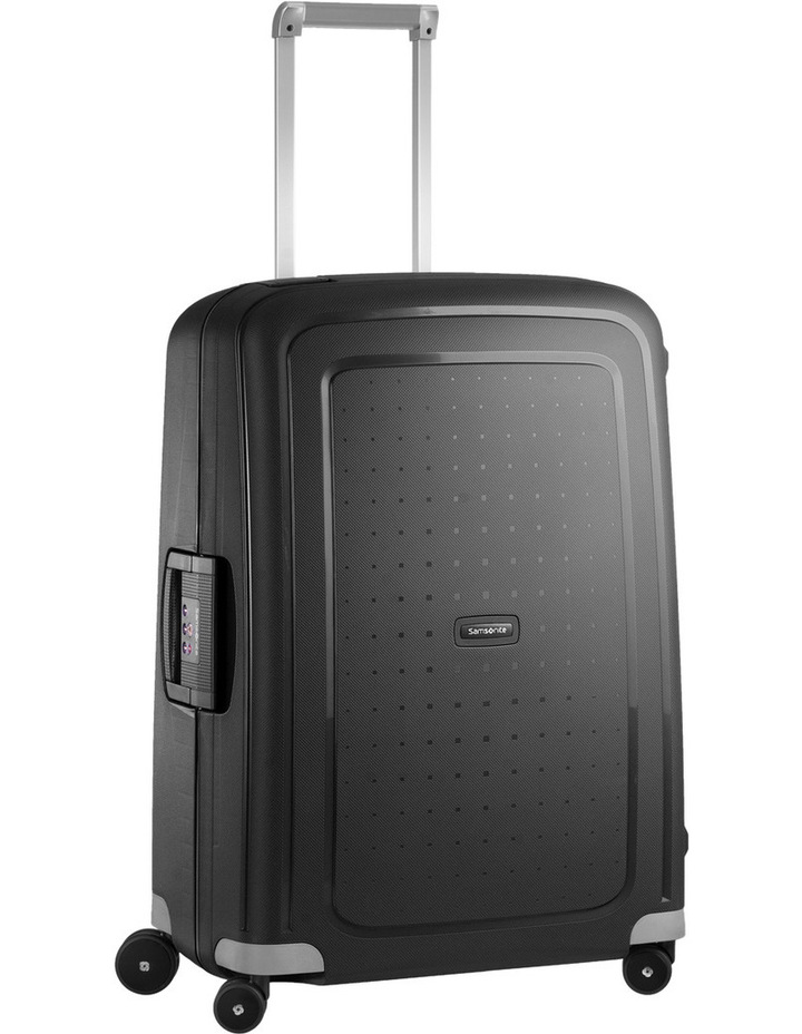 S'cure Hardside Spinner Case Small 55cm Black 2.9kg image 1