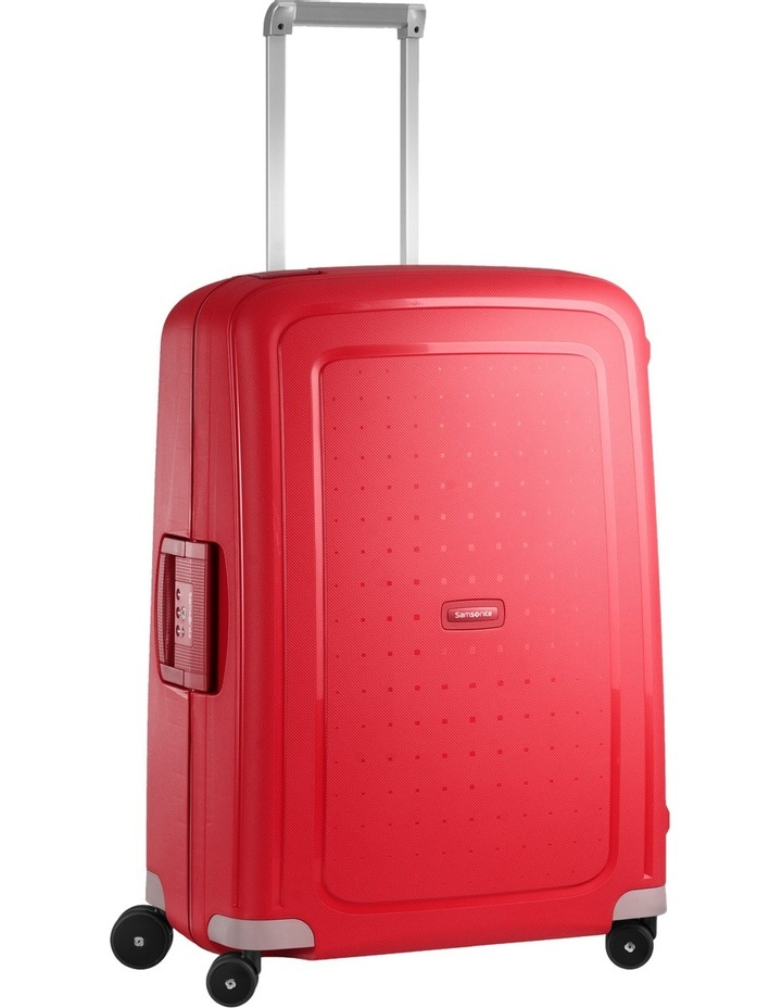 S'cure Hardside Spinner Case Small 55cm Red 2.9kg image 1