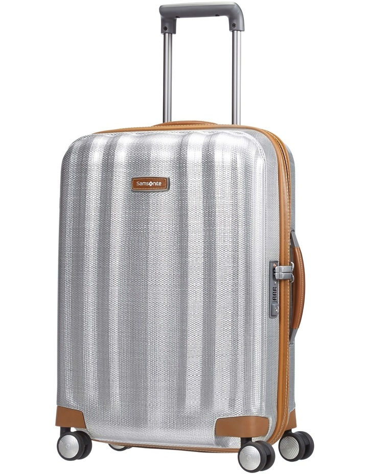 Lite-Cube Deluxe Hardside Small 55cm Spinner Suitcase - Aluminium image 1