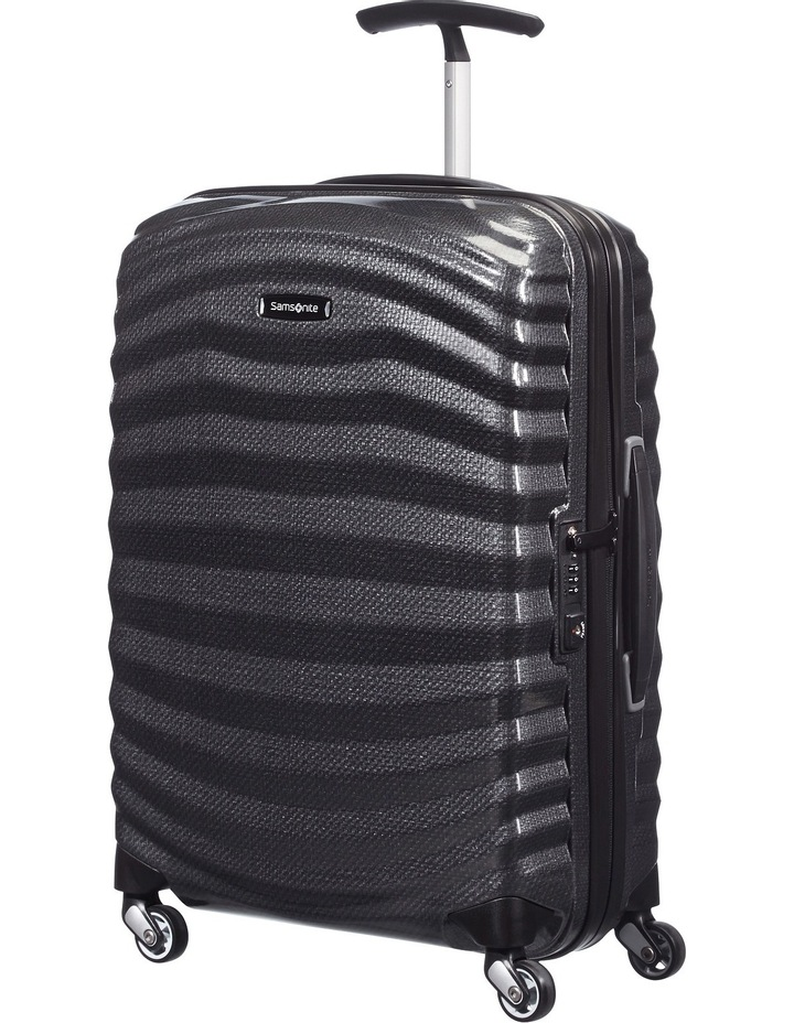Lite Shock Hardside Spinner Case Small 55cm Black 1.7kg image 1