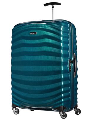 Samsonite - Lite Shock Hardside Spinner Case Large 81cm Petrol Blue 2.8kg