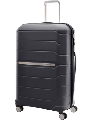 SamsoniteOctolite Hardside Spinner Case Large 75cm Black 4kg. Samsonite  Octolite Hardside Spinner Case Large 75cm Black 4kg eb403ebfd
